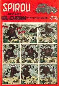 Cover Thumbnail for Spirou (Dupuis, 1947 series) #962