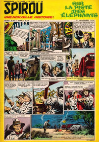 Cover Thumbnail for Spirou (Dupuis, 1947 series) #968