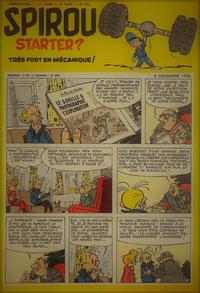 Cover Thumbnail for Spirou (Dupuis, 1947 series) #969
