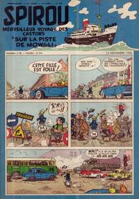 Cover Thumbnail for Spirou (Dupuis, 1947 series) #970