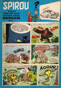 Cover Thumbnail for Spirou (Dupuis, 1947 series) #979