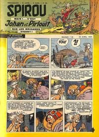 Cover Thumbnail for Spirou (Dupuis, 1947 series) #993