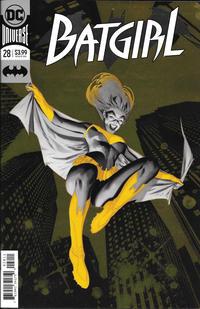 Cover Thumbnail for Batgirl (DC, 2016 series) #28 [Julian Totino Tedesco Enhanced Foil Cover]