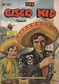 Cover Thumbnail for Cisco Kid (World Distributors, 1952 series) #47
