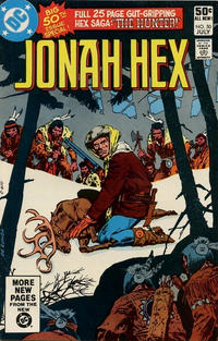 Cover Thumbnail for Jonah Hex (DC, 1977 series) #50 [Direct]