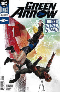 Cover Thumbnail for Green Arrow (DC, 2016 series) #46 [Alex Maleev Cover]