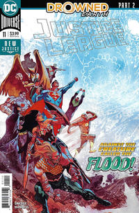 Cover Thumbnail for Justice League (DC, 2018 series) #11 [Francis Manapul Cover]