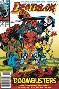 Cover Thumbnail for Deathlok (Marvel, 1991 series) #5 [Newsstand]