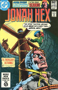 Cover Thumbnail for Jonah Hex (DC, 1977 series) #54 [Direct]