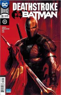 Cover Thumbnail for Deathstroke (DC, 2016 series) #30 [Francesco Mattina Cover]