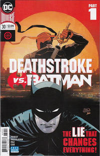 Cover Thumbnail for Deathstroke (DC, 2016 series) #30 [Second Printing]