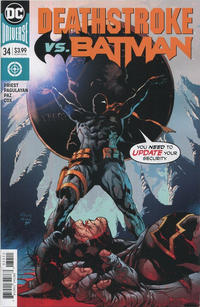 Cover Thumbnail for Deathstroke (DC, 2016 series) #34