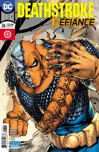 Cover Thumbnail for Deathstroke (DC, 2016 series) #26 [Shane Davis, Michelle Delecki & Alex Sinclair Cover]