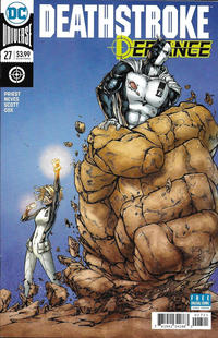 Cover Thumbnail for Deathstroke (DC, 2016 series) #27 [Shane Davis, Michelle Delecki & Alex Sinclair Cover]