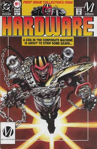 Cover Thumbnail for Hardware (DC, 1993 series) #1 [Direct]