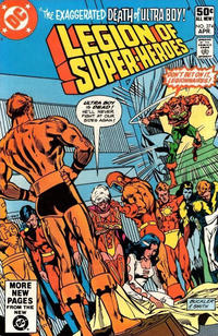Cover Thumbnail for The Legion of Super-Heroes (DC, 1980 series) #274 [Direct]