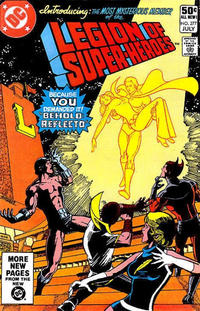 Cover Thumbnail for The Legion of Super-Heroes (DC, 1980 series) #277 [Direct]