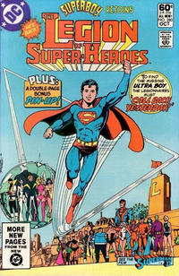 Cover Thumbnail for The Legion of Super-Heroes (DC, 1980 series) #280 [Direct]