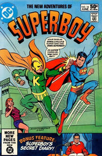Cover Thumbnail for The New Adventures of Superboy (DC, 1980 series) #18 [Direct]