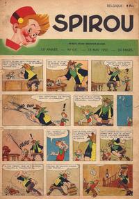 Cover Thumbnail for Spirou (Dupuis, 1947 series) #631