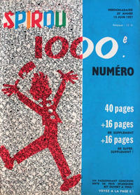 Cover Thumbnail for Spirou (Dupuis, 1947 series) #1000