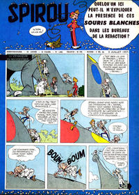 Cover Thumbnail for Spirou (Dupuis, 1947 series) #1003