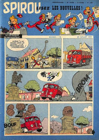 Cover Thumbnail for Spirou (Dupuis, 1947 series) #1006