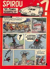 Cover Thumbnail for Spirou (Dupuis, 1947 series) #1007