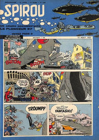 Cover Thumbnail for Spirou (Dupuis, 1947 series) #1009