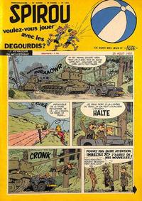 Cover Thumbnail for Spirou (Dupuis, 1947 series) #1011