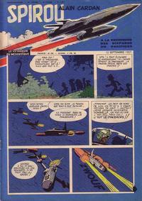 Cover Thumbnail for Spirou (Dupuis, 1947 series) #1013
