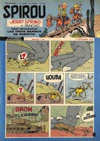 Cover Thumbnail for Spirou (Dupuis, 1947 series) #1012