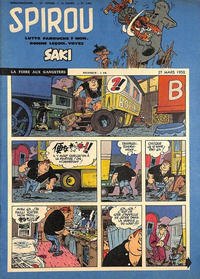 Cover Thumbnail for Spirou (Dupuis, 1947 series) #1041