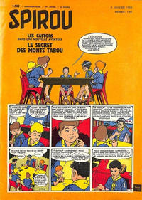 Cover Thumbnail for Spirou (Dupuis, 1947 series) #1082