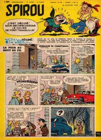 Cover Thumbnail for Spirou (Dupuis, 1947 series) #1089