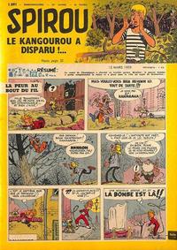 Cover Thumbnail for Spirou (Dupuis, 1947 series) #1091