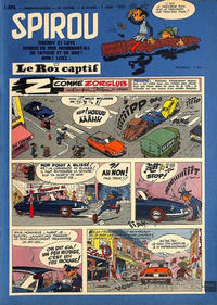 Cover Thumbnail for Spirou (Dupuis, 1947 series) #1099