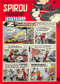 Cover Thumbnail for Spirou (Dupuis, 1947 series) #1100