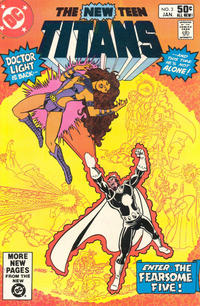 Cover Thumbnail for The New Teen Titans (DC, 1980 series) #3 [Direct]