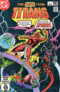 Cover Thumbnail for The New Teen Titans (DC, 1980 series) #6 [Direct]