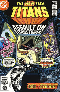 Cover Thumbnail for The New Teen Titans (DC, 1980 series) #7 [Direct]