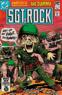 Cover Thumbnail for Sgt. Rock (DC, 1977 series) #349 [Direct]