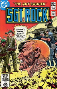 Cover Thumbnail for Sgt. Rock (DC, 1977 series) #351 [Direct]