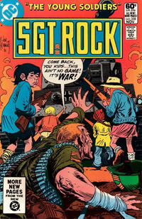 Cover Thumbnail for Sgt. Rock (DC, 1977 series) #358 [Direct]