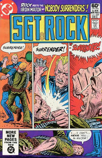 Cover Thumbnail for Sgt. Rock (DC, 1977 series) #359 [Direct]