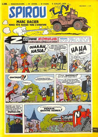 Cover Thumbnail for Spirou (Dupuis, 1947 series) #1108