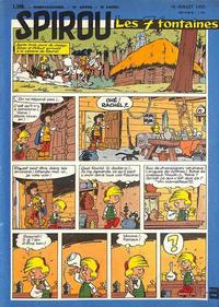 Cover Thumbnail for Spirou (Dupuis, 1947 series) #1109
