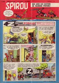 Cover Thumbnail for Spirou (Dupuis, 1947 series) #1110