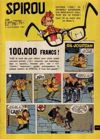 Cover Thumbnail for Spirou (Dupuis, 1947 series) #1125