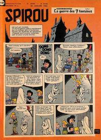 Cover Thumbnail for Spirou (Dupuis, 1947 series) #1137